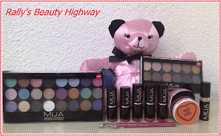 My MUA makeup collection
