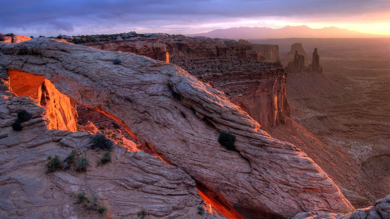 Mesa Arch, Canyonlands National Park, Utah (© Jeff Clay/Tandem Still + Motion)