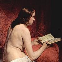 'Odalisca amb llibre (Francesco Hayez)'