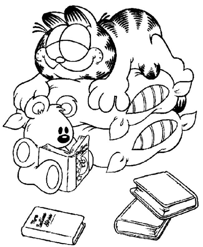 Garfield Cat Cartoon Characters