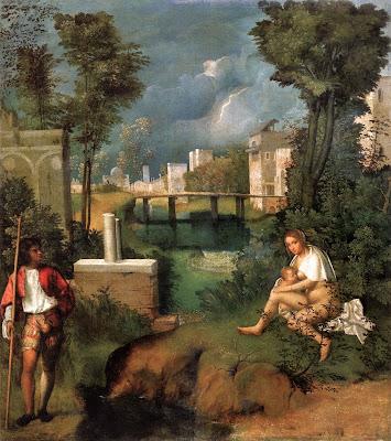 Giogione 1477-1510 La tempête