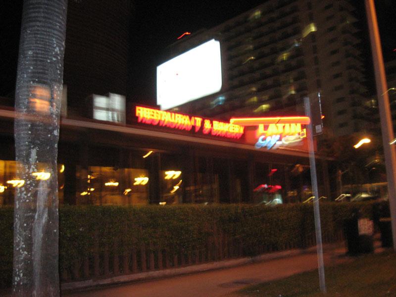 Latin Cafe Menu Biscayne