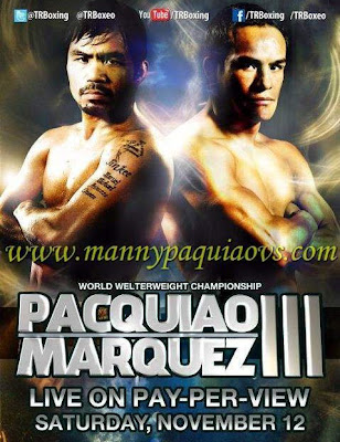 Watch Manny Pacquiao vs Juan Manuel Marquez 3 Live stream video