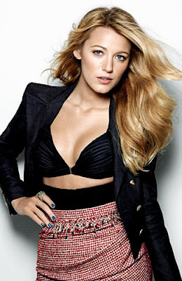 Model Rambut 2012 - Blake Lively