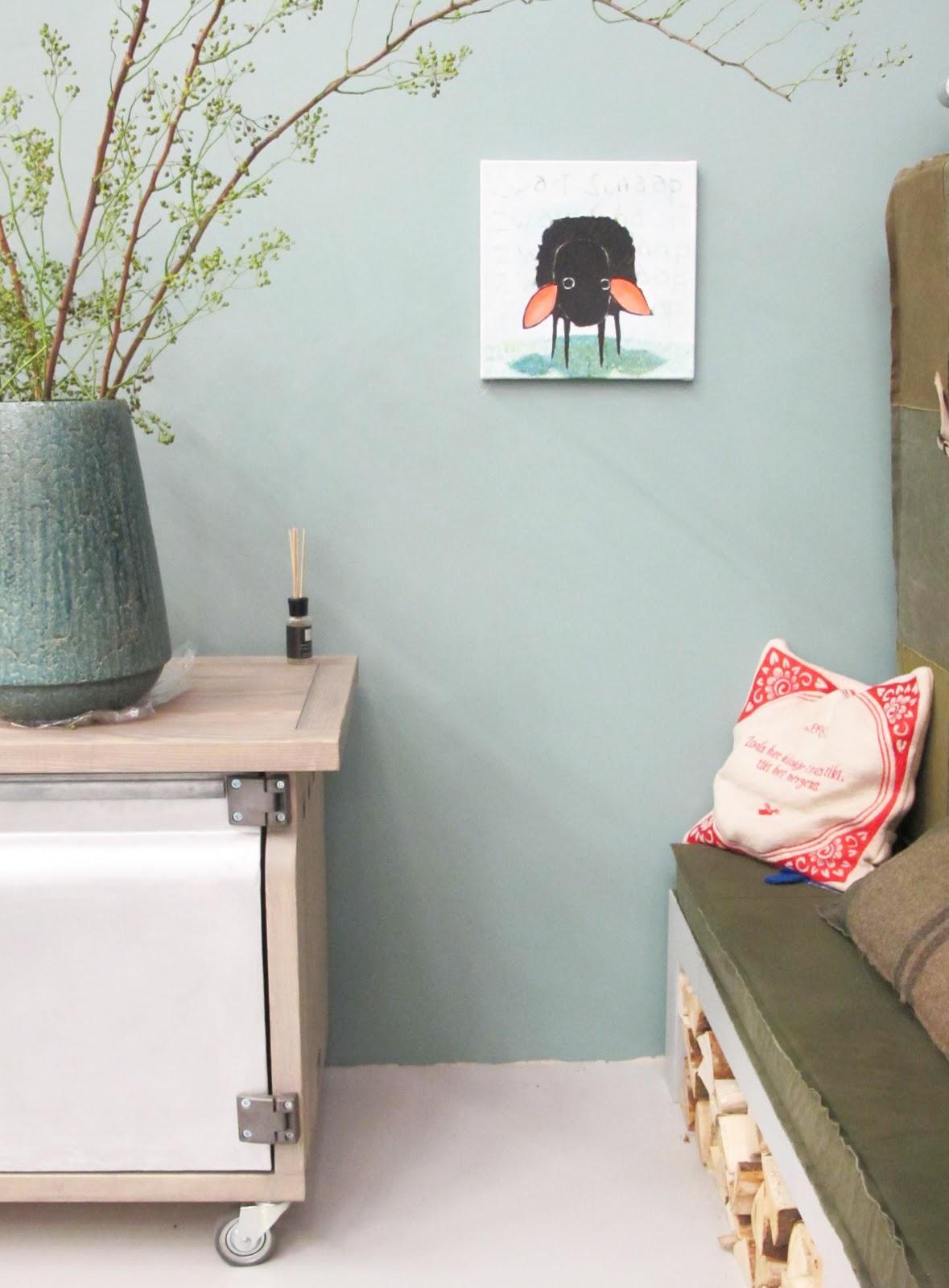 Stijlbloemblog vt wonen - Trend schilderij slaapkamer ...