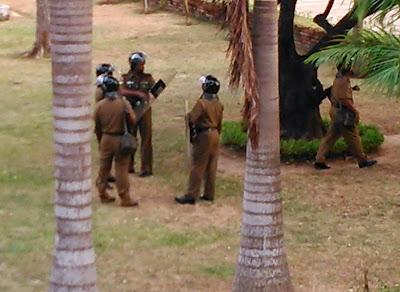 Rajarata University closed,VC Still trapped