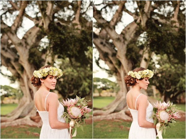 Dillingham Ranch, Hawaii Styled Bridal Shoot by Creatrix Photography (www.creatrixphotography.com)