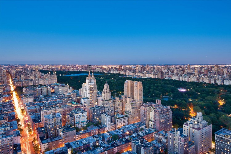 New york city luxury manhattan penthouses the gartner for Central park penthouses for sale