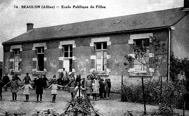 CPA Allier école de Beaulon
