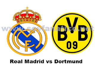 Real Madrid vs Dortmund - Champions League 2012