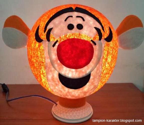 Lampion Lucu Macan