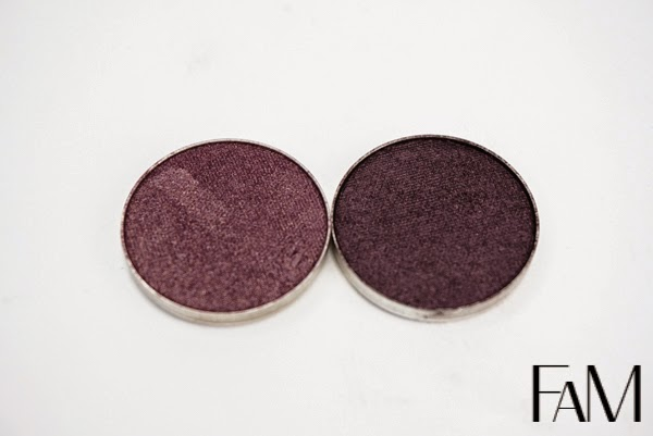 Makeup Geek Eyeshadow swatches and comparisons
