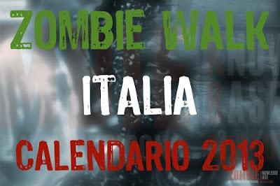 Zombie Walk Italia: Calendario 2013
