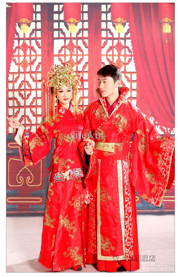 Noiva com classe vestidos de noiva da china for Traditional chinese wedding dress hong kong