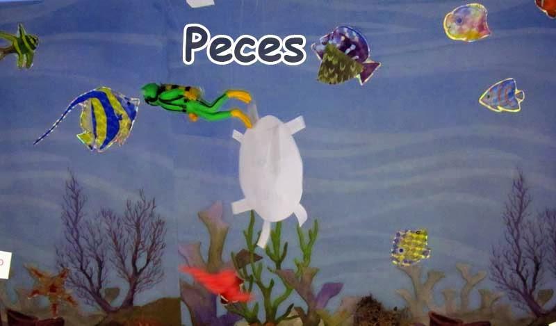 peces de papel