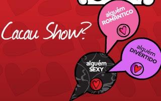 Presentes Cacau Show dia dos namorados 2011