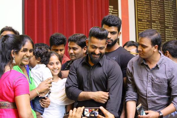 Jr.NTR Latest Images at Rajendra Prasad Birthday Celebrations | ‪‎NTR25 | ‬‪Nannaku Prematho‬