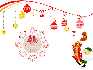 Free Download Christmas Party Wallpaper