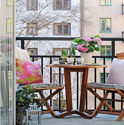 15 fotos de balcones ideas para decorar dise ar y for Decoracion balcon departamento