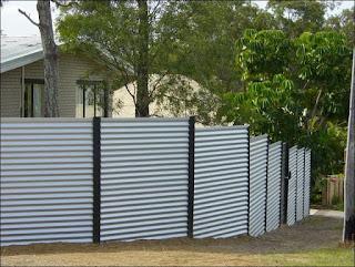 Забор из профлиста. Фото 25