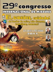 DVD Gideões 2011