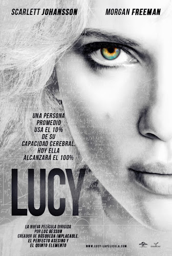 Lucy - 2014 Movie Poster HD