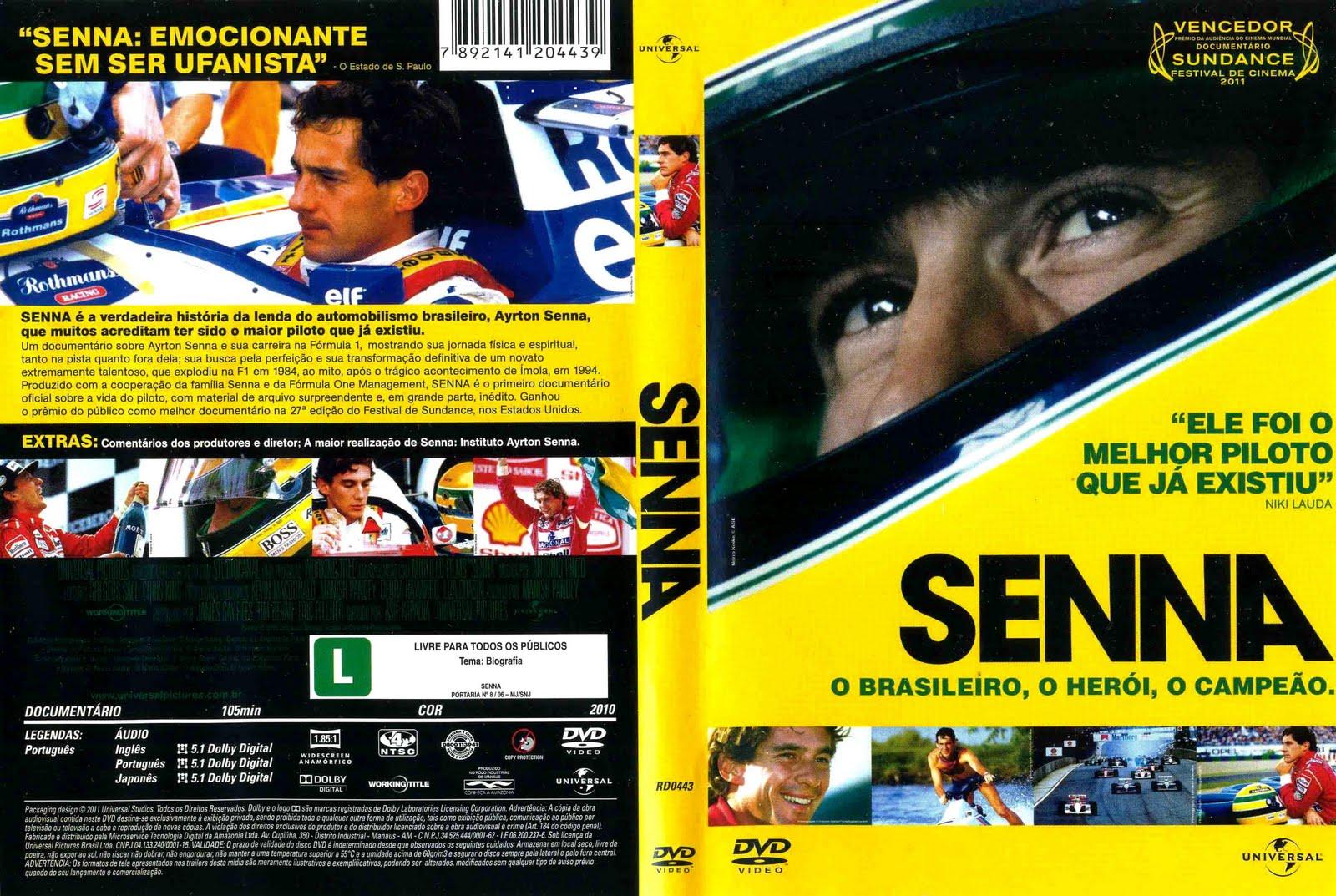 Senna DVD-R SENA 001
