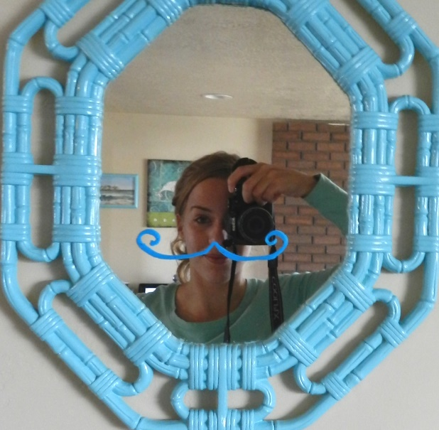 funny mirror drawing