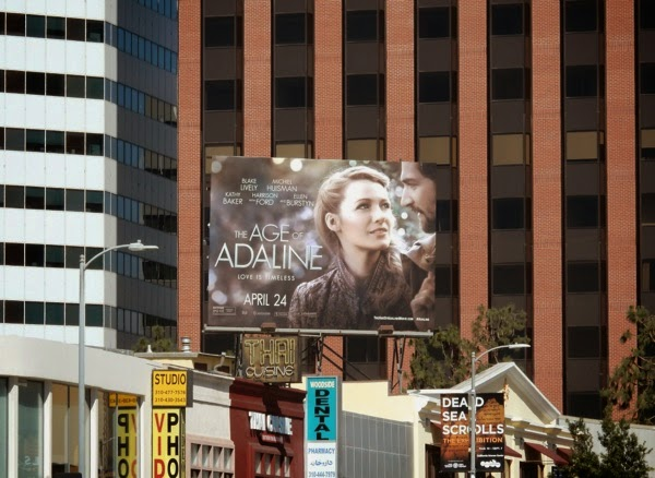Age of Adaline film billboard