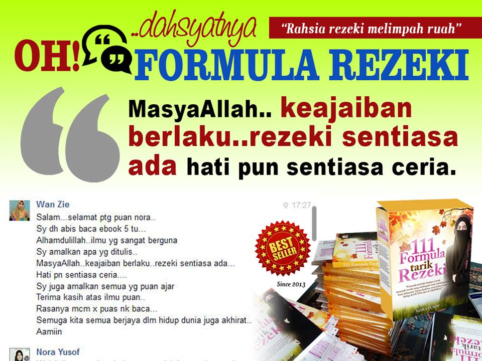 Formula Tarik Rezeki