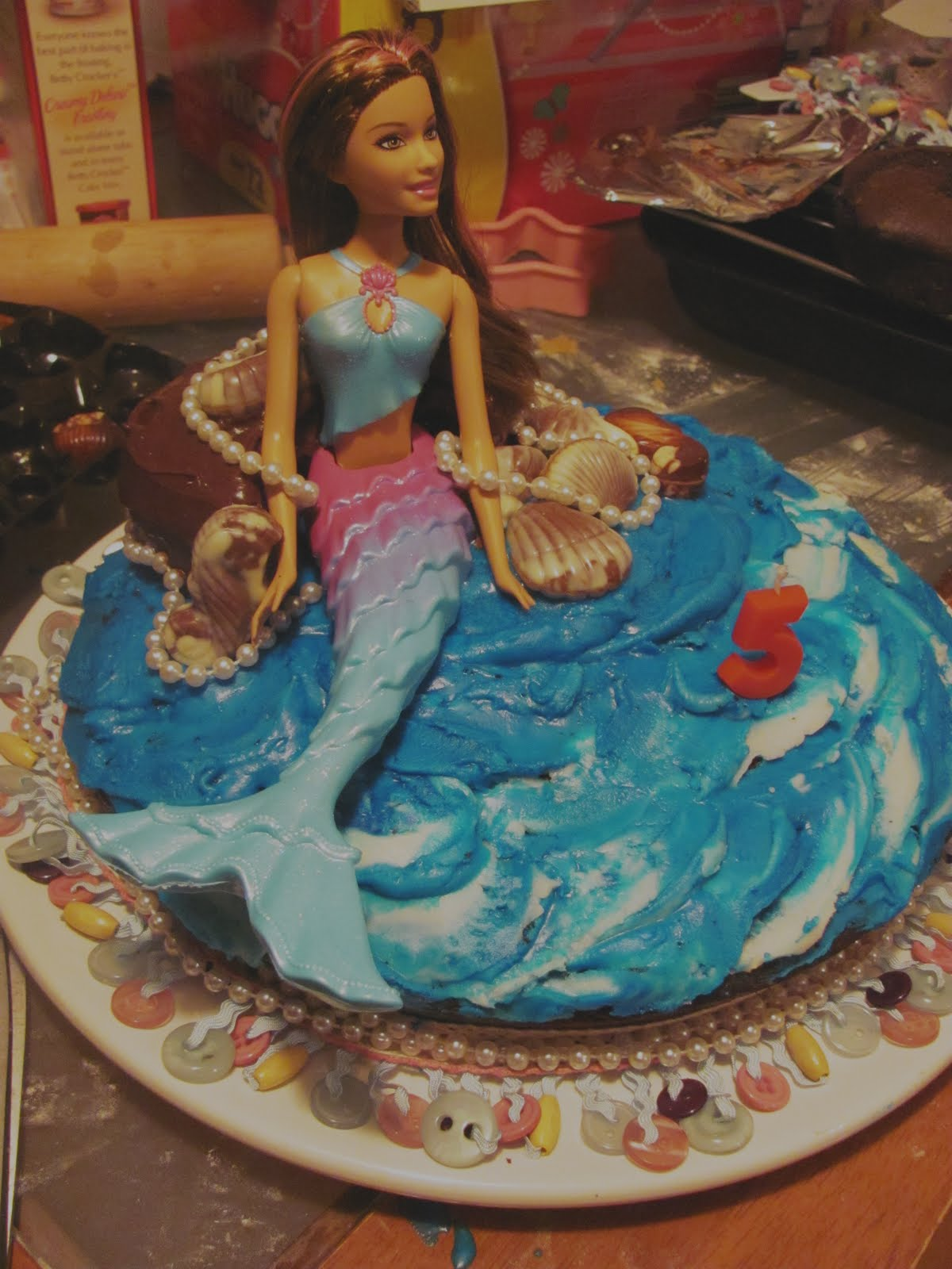 Barbie Mermaid Cake Images : Barbie Mermaid Cake Ideas and Designs