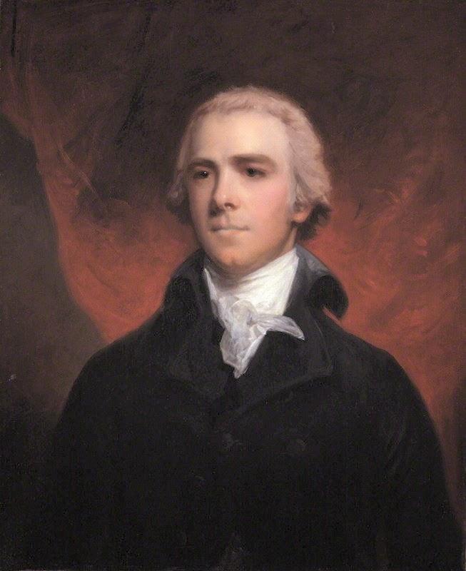 William Wyndham Grenville,  1st Baron Grenville by John Hoppner  oil on canvas (c1800)  © NPG318 (lightened) (1)