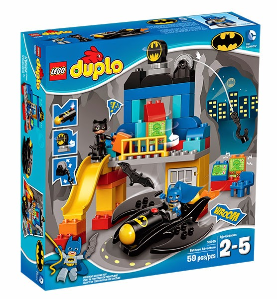 Enter the  LEGO DUPLO Batcave Giveaway. Ends 10/23