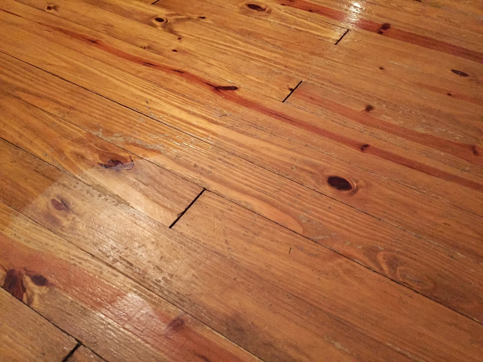Thrifty farmer 39 s wife my hardwood floors lost their shine for Hardwood floors not shiny