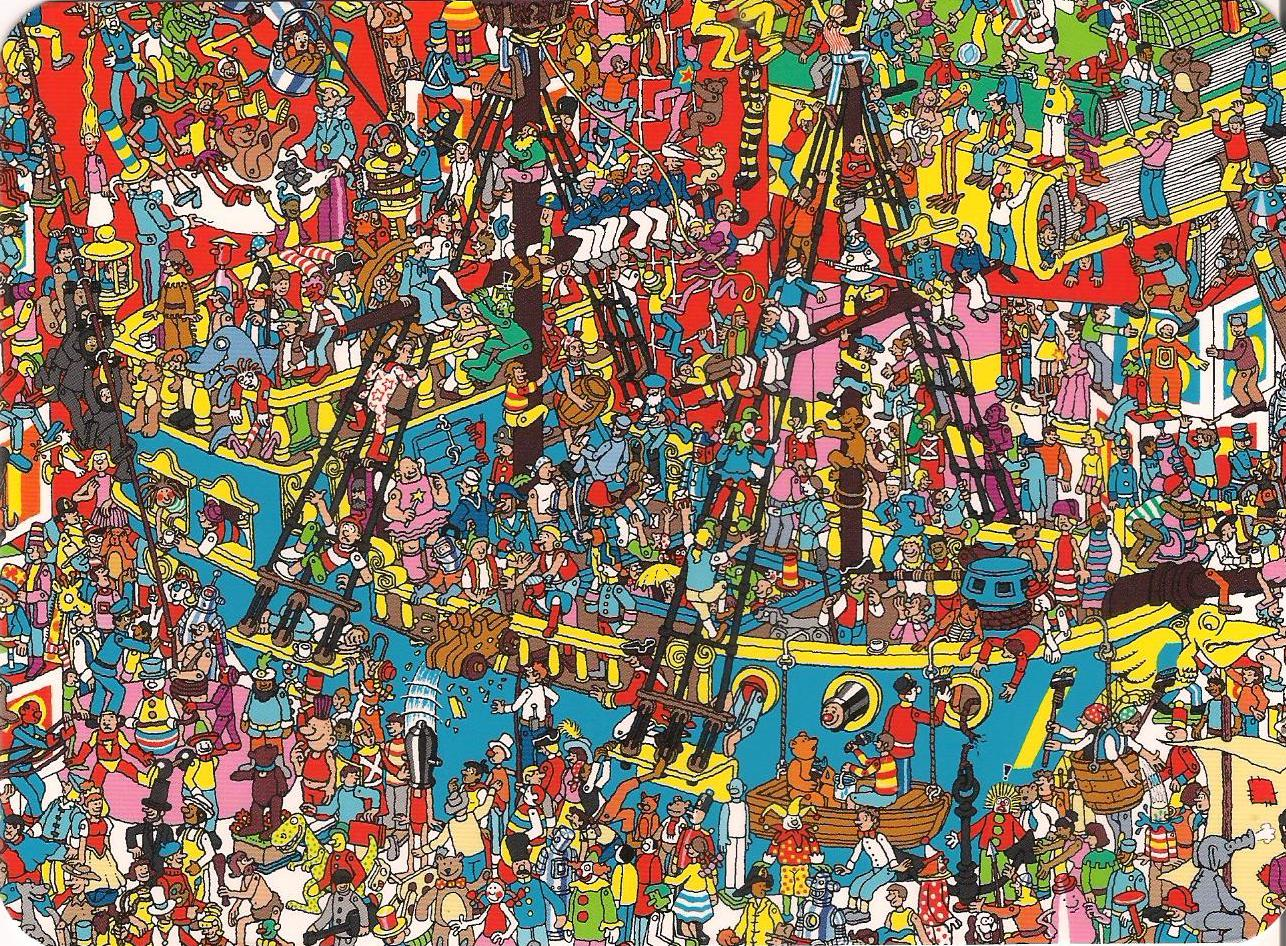 Agile image for where's waldo printable