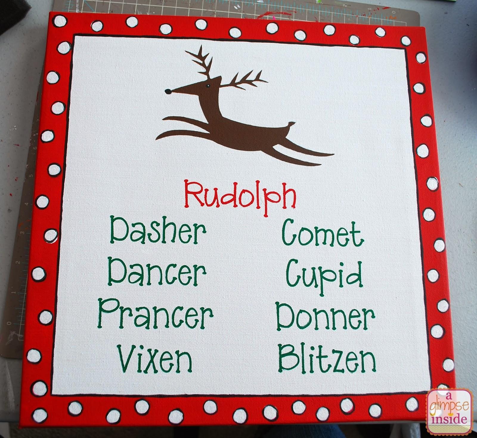 ... Inside: Silhouette Black Friday Sale + Reindeer Names Art Tutorial