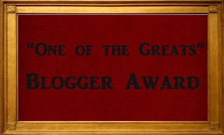 One of the Greats award!