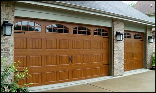Wood garage door repair Portland