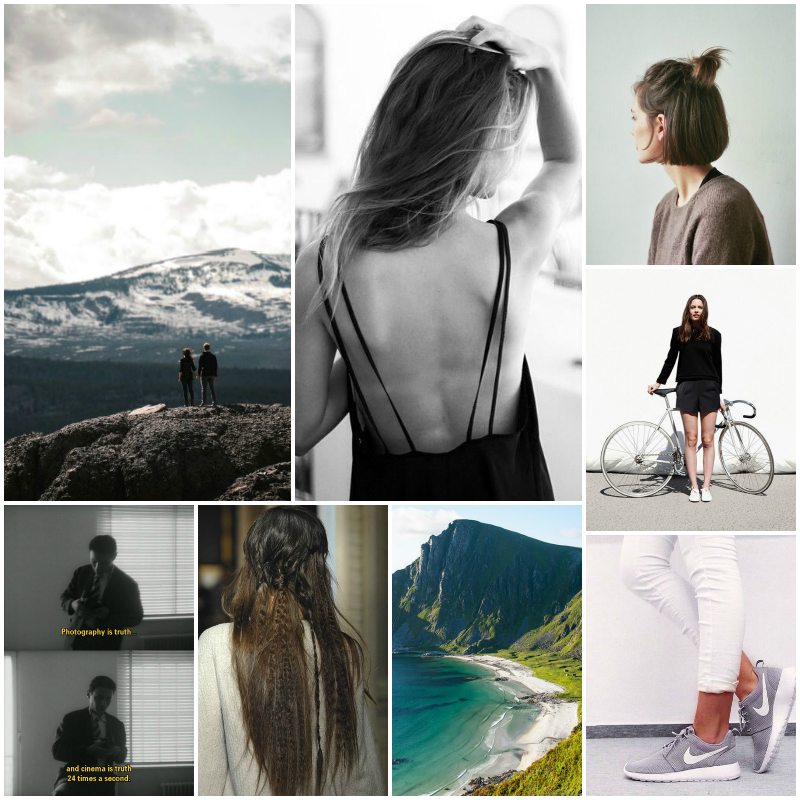 Moodboard by post and pin