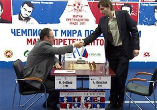 Echecs à Kazan : Gelfand et Grischuk