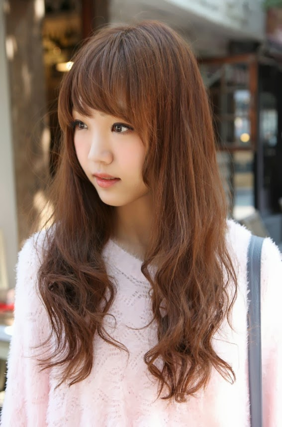 World Latest Fashion Trends Most 10 Beautiful Korean Girls New Hairstyle Images 2013 14