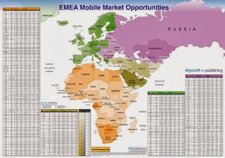EMEA Mobile Market Opportunities Wall Chart