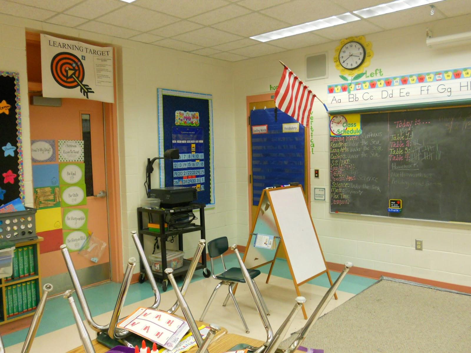 Apple Classroom Decor ~ An apple a day linky party classroom decor the