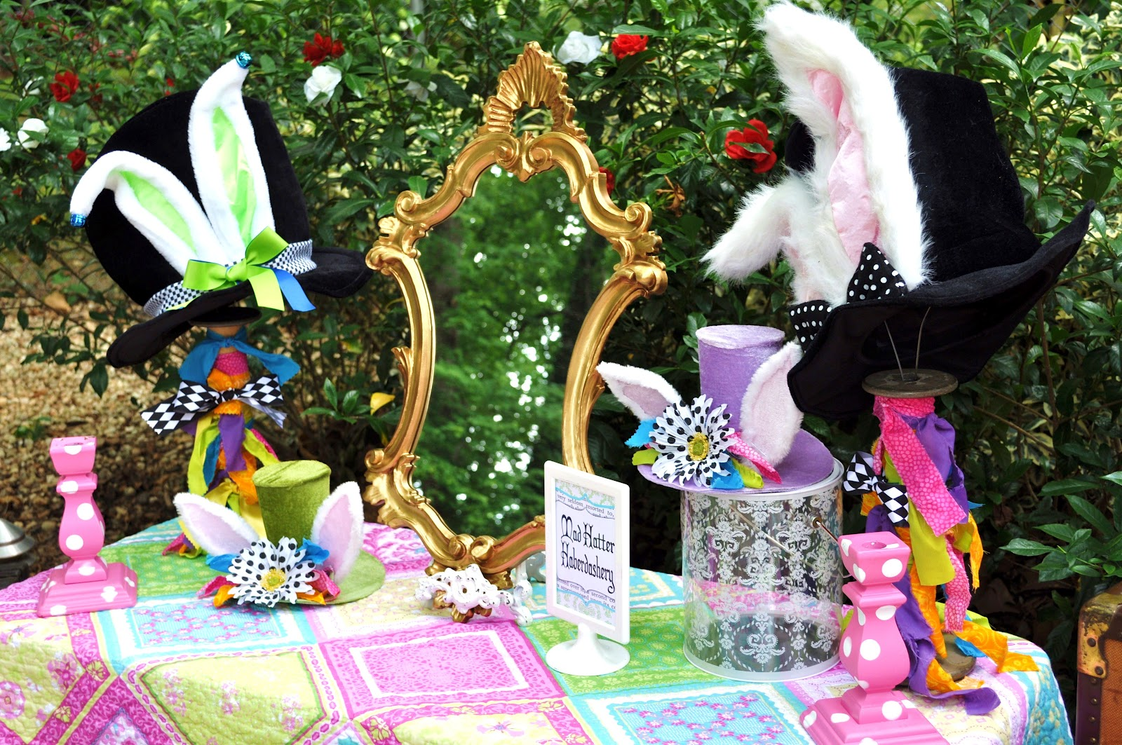 Mad hatter tea party decoration ideas - Mad Hatter Tea Party Decoration Ideas 28