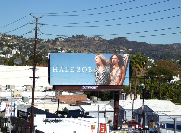 Hale Bob FW15 fashion billboard