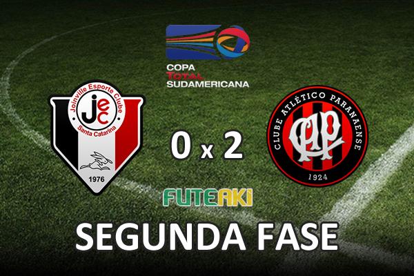Veja o resumo da partida com os gols e os melhores momentos de Joinville 0x2 Atlético-PR pela segunda fase da Copa Sul-Americana 2015.