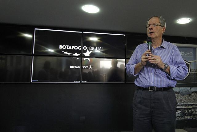 Presidente do Botafogo planeja trazer reforços com a ajuda de parceiros (Foto: Vitor Silva/SSPress)