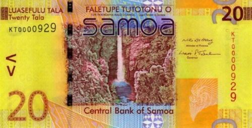 Samoa 20-Tala