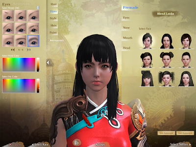 ArcheAge - Character Creation Eyes