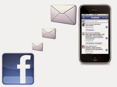 facebook via SMSCara Menghentikan pemberitahuan sms